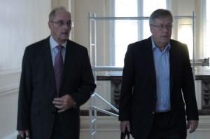Hans Berger und Peter Riech, Ex-Vorstände HSH Nordbank