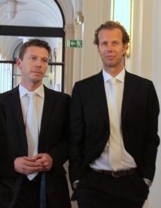 Staatsanwälte im HSH Prozess Fink und Wegerich
