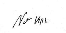 Prof. Nonnenmachers Unterschrift und Datum. 19. oder 29.12.?