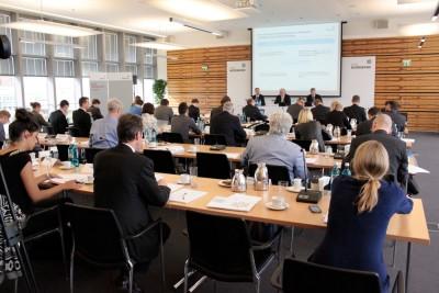 Halbjahrespressekonferenz in den Räumen der HSH Nordbank