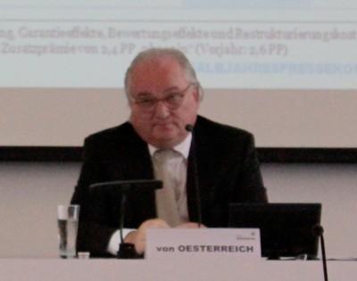 HSH-Vorstandschef Constantin von Oesterreich, HalbjahresPK 2015