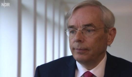 HSH Aufsichtsratschef Thomas Mirow im NDR Fernsehen